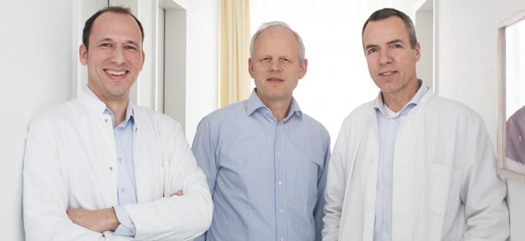 Dr. Sennholz, PD Dr. Caspary, Dr. Schneider